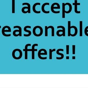 NO REASONABLE OFFER REFUSED!!!